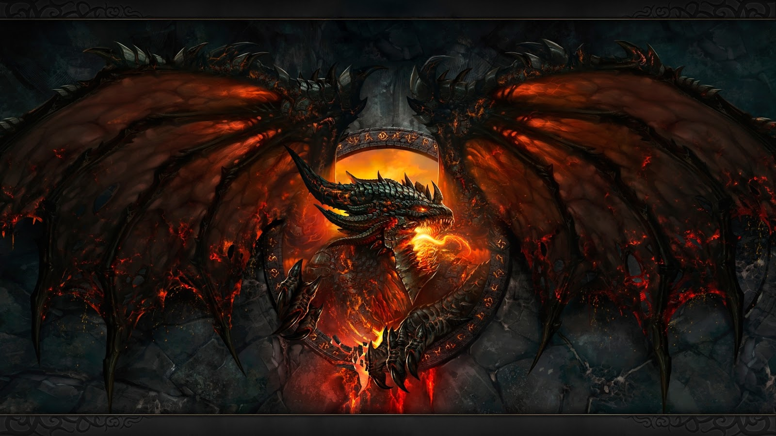 wallpapers hd for mac Dragon 3D Wallpaper High Definition 1600x900