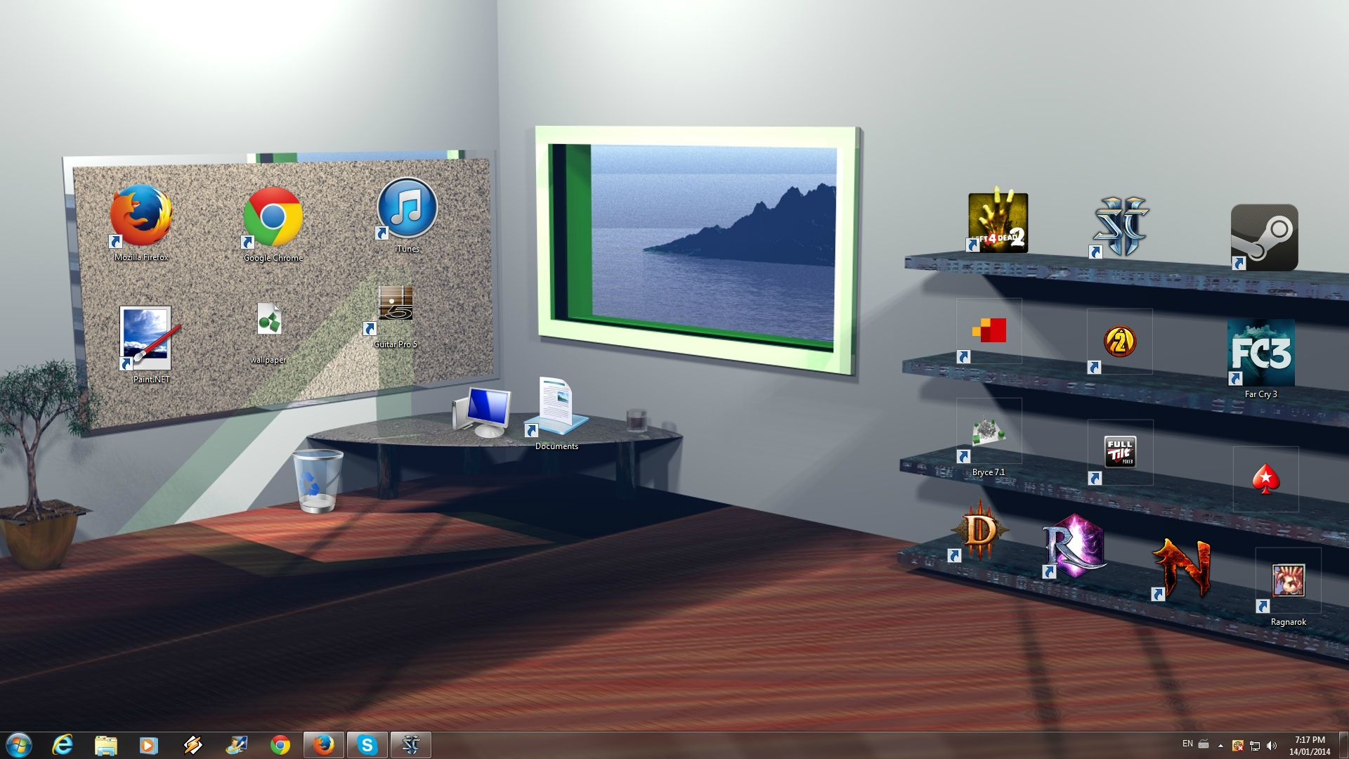 Shelf desktop wallpaper - wallpapersafari.