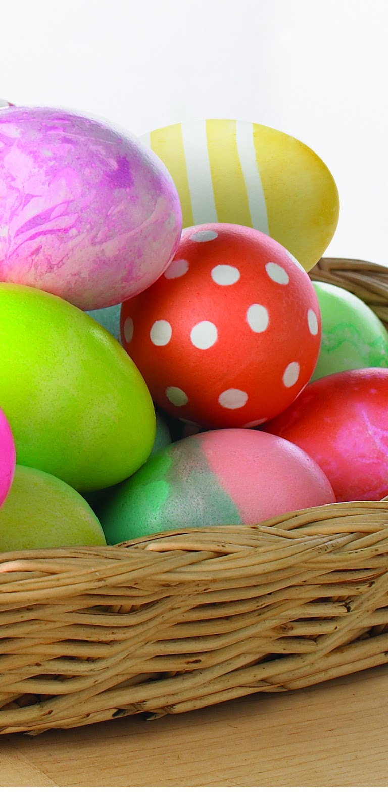 Happy Easter 2013   Download Easter Eggs iPhone 5 HD Wallpapers 768x1600