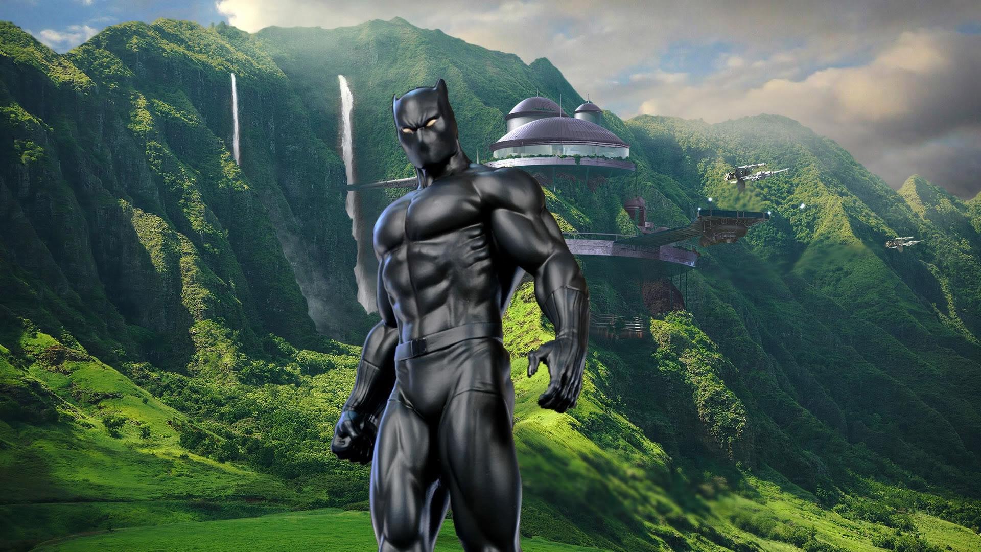 Marvel Black Panther Wallpaper Desktop Wallpapersafari