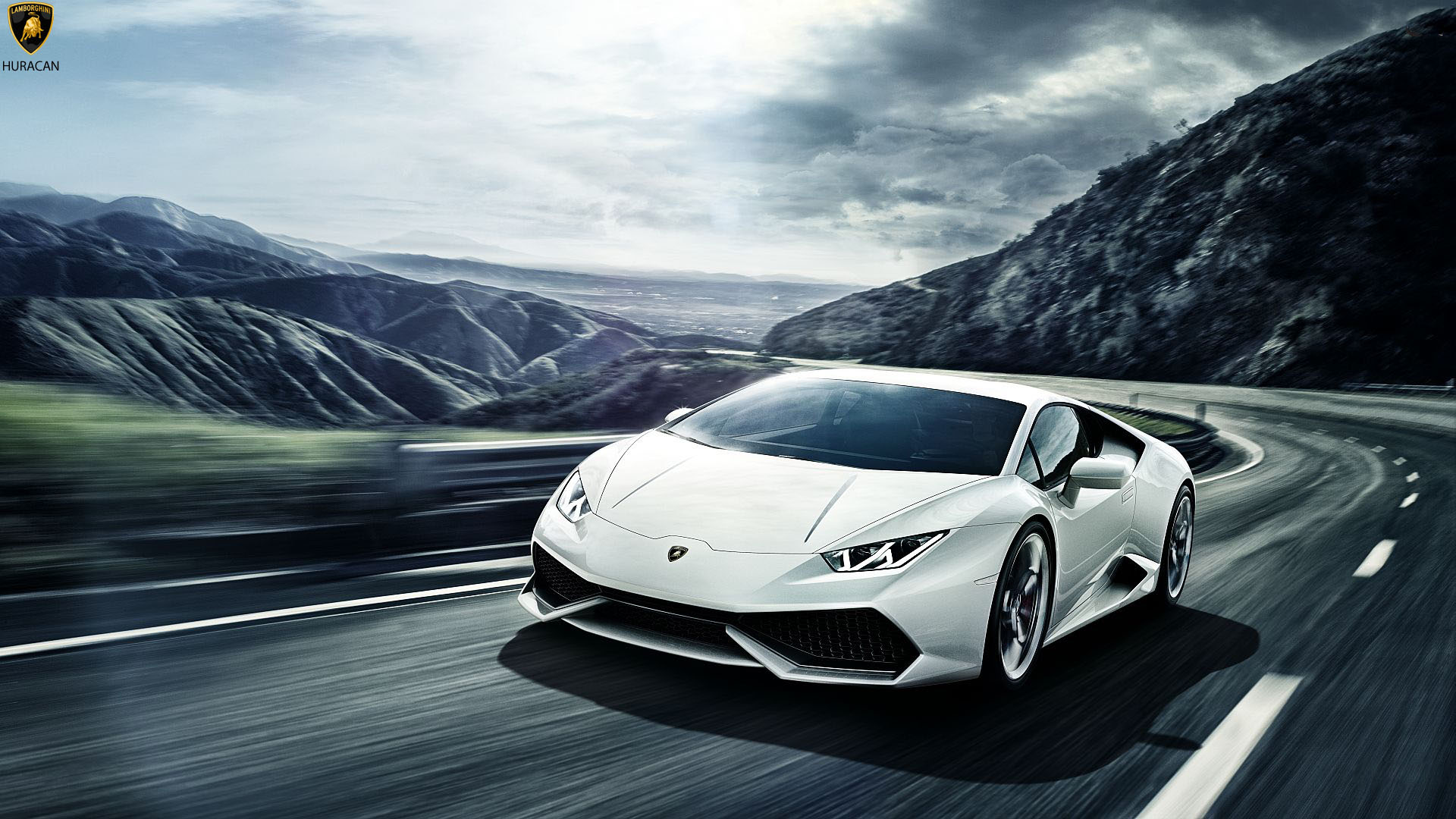 white latest lamborghini huracan wallpaper hd - Lamborghini Huracan Wallpaper