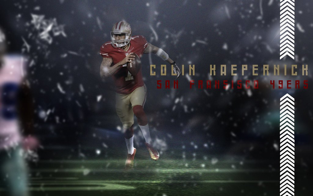 Wallpaper Colin Kaepernick by HazZbroGaminG 1024x640