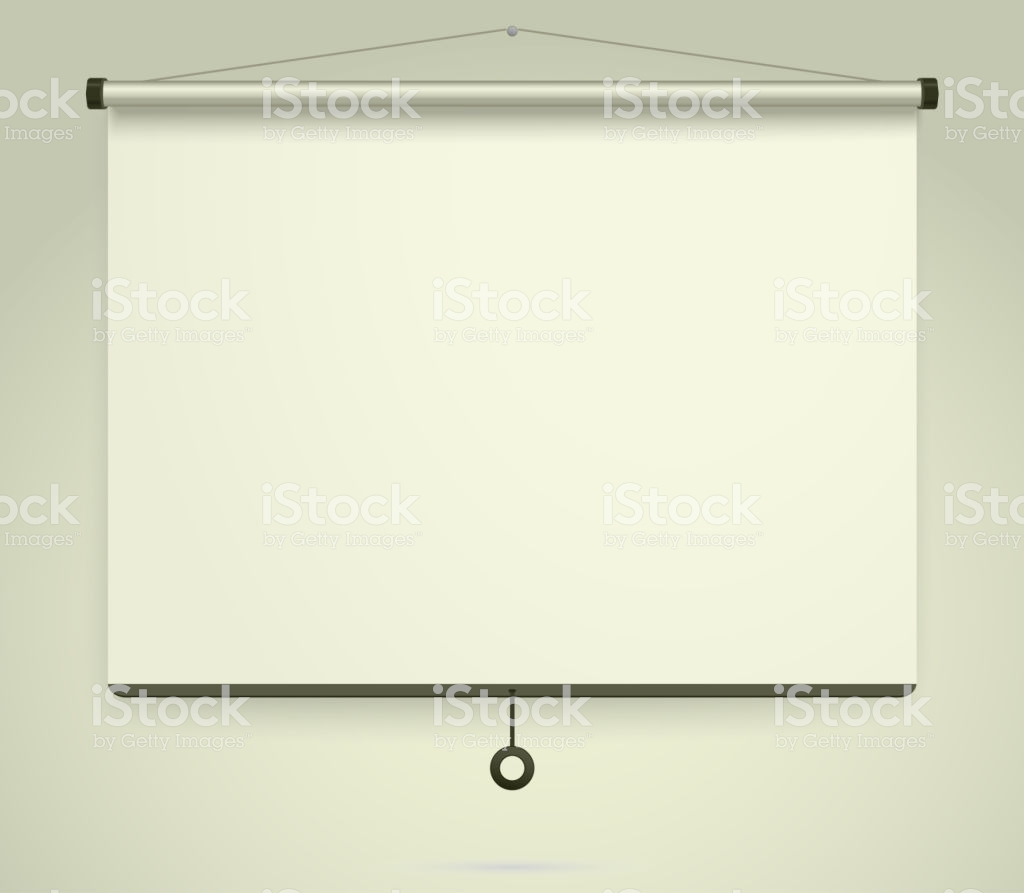 Presentation Empty Projection Screen Whiteboard Background Frame 1024x893