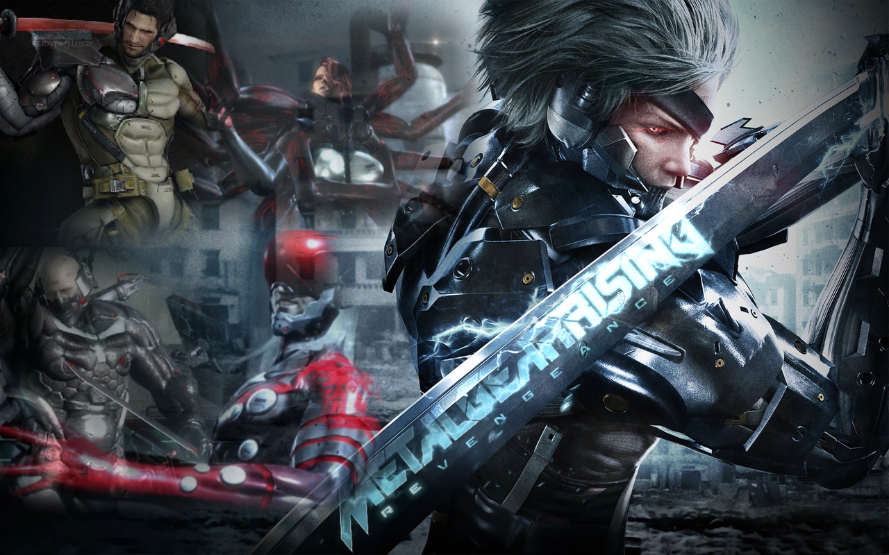 42 Hd Raiden Wallpaper On Wallpapersafari: Metal Gear Rising Wallpaper