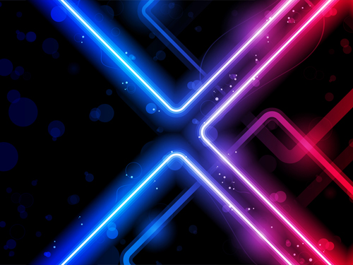 Shiny Neon background art 04   Vector Background download 500x375
