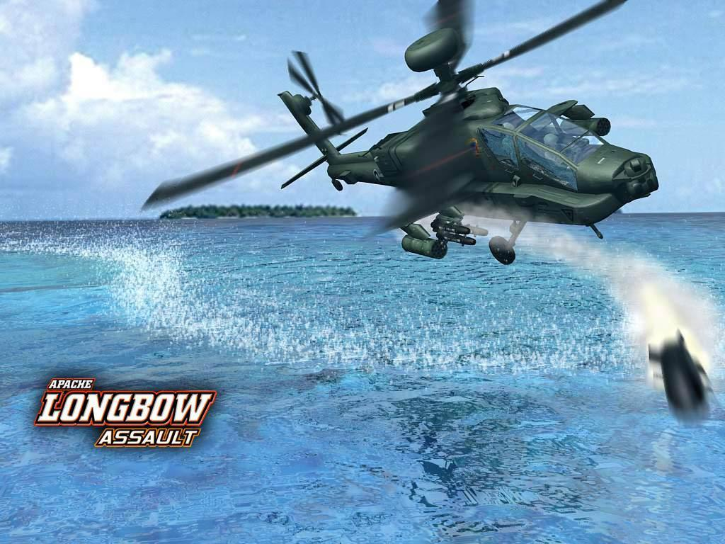 ecran apache longbow assault wallpaper apache longbow assault apache 1024x768