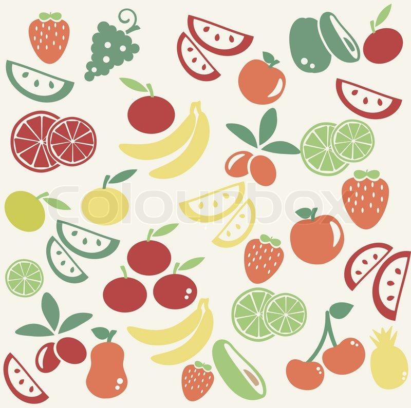 Cartoon Food Wallpaper Wallpapersafari