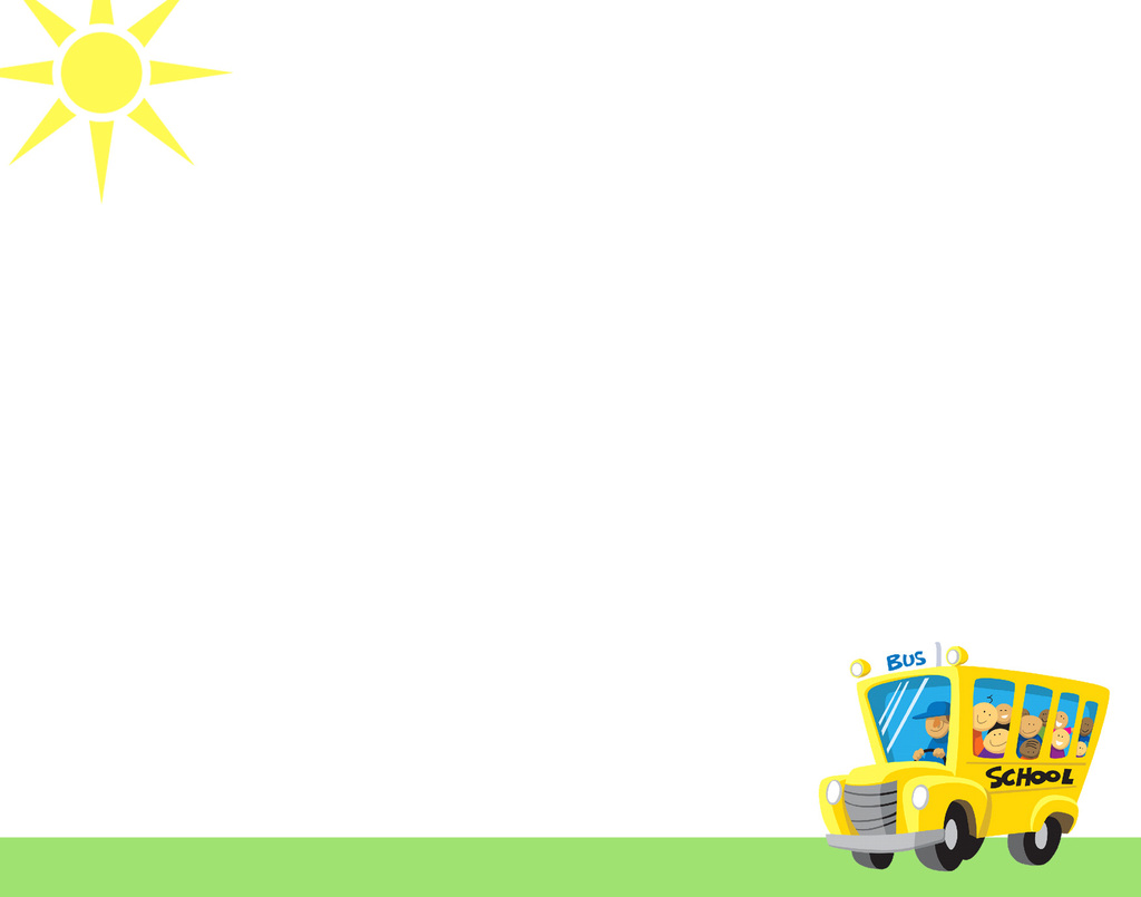 School Bus Education Backgrounds For PowerPoint   Education PPT 1024x805