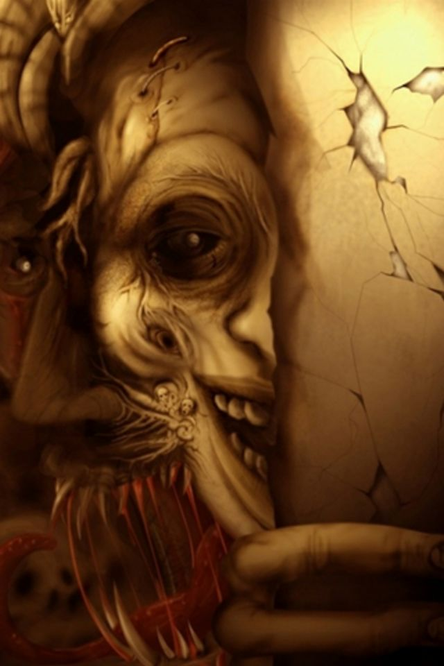 Demonios iPhone Wallpaper HD 640x960