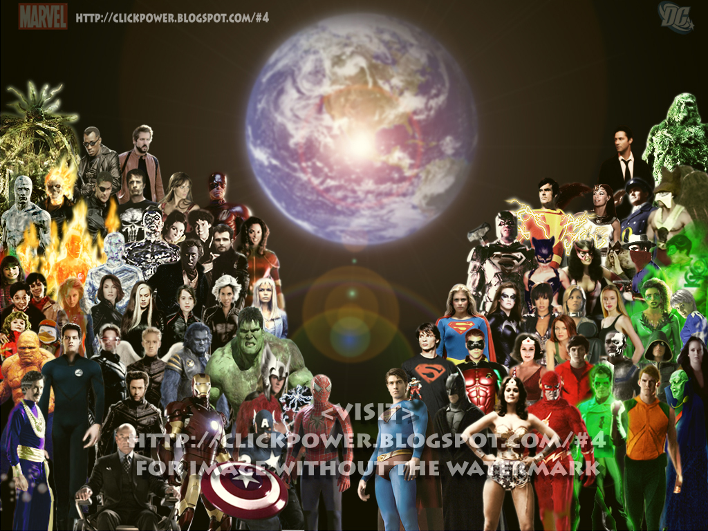 superherouniverse Superhero Fan Art 1024x768