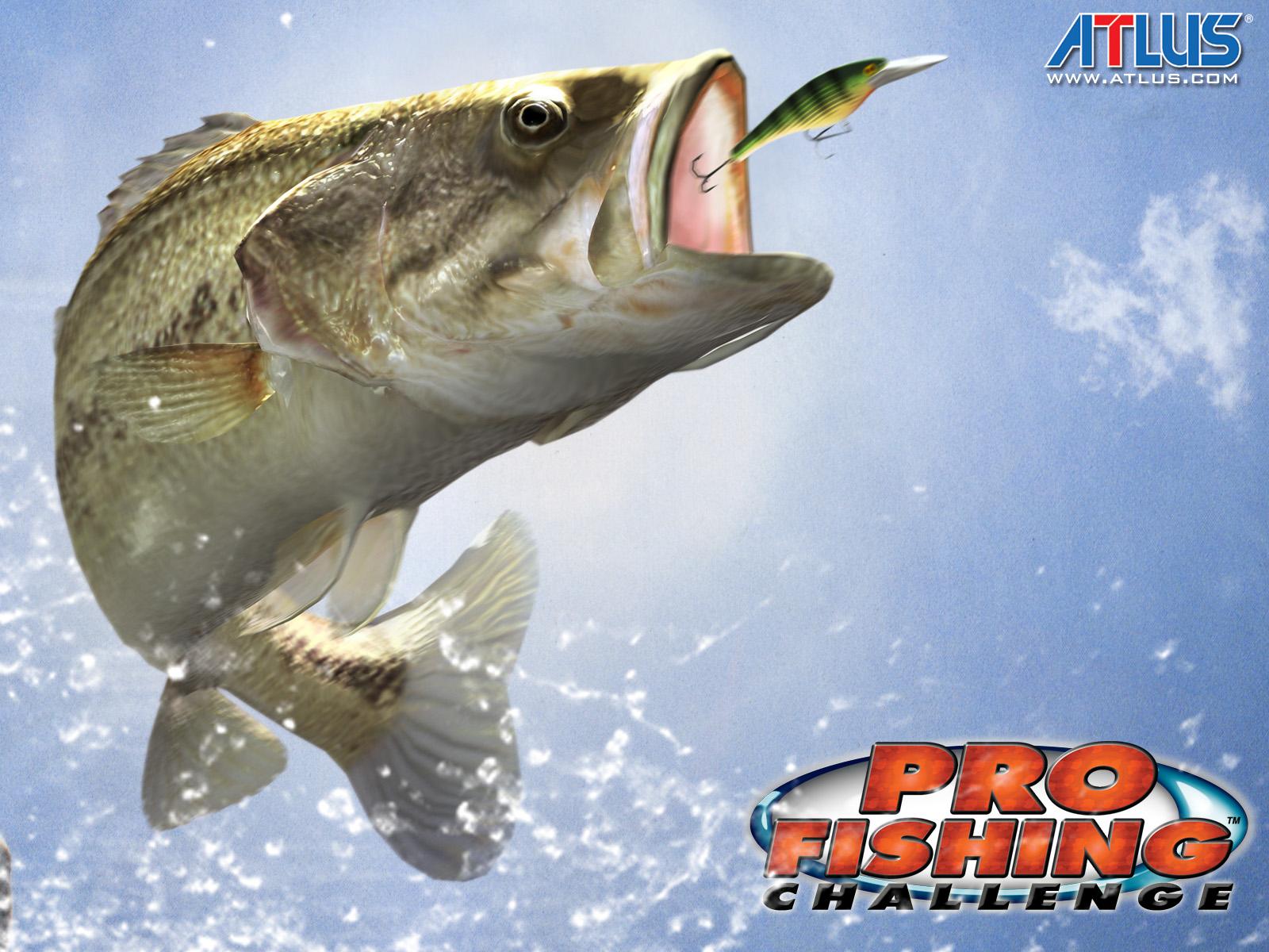 Atlus USA presents Pro Fishing Challenge 1600x1200