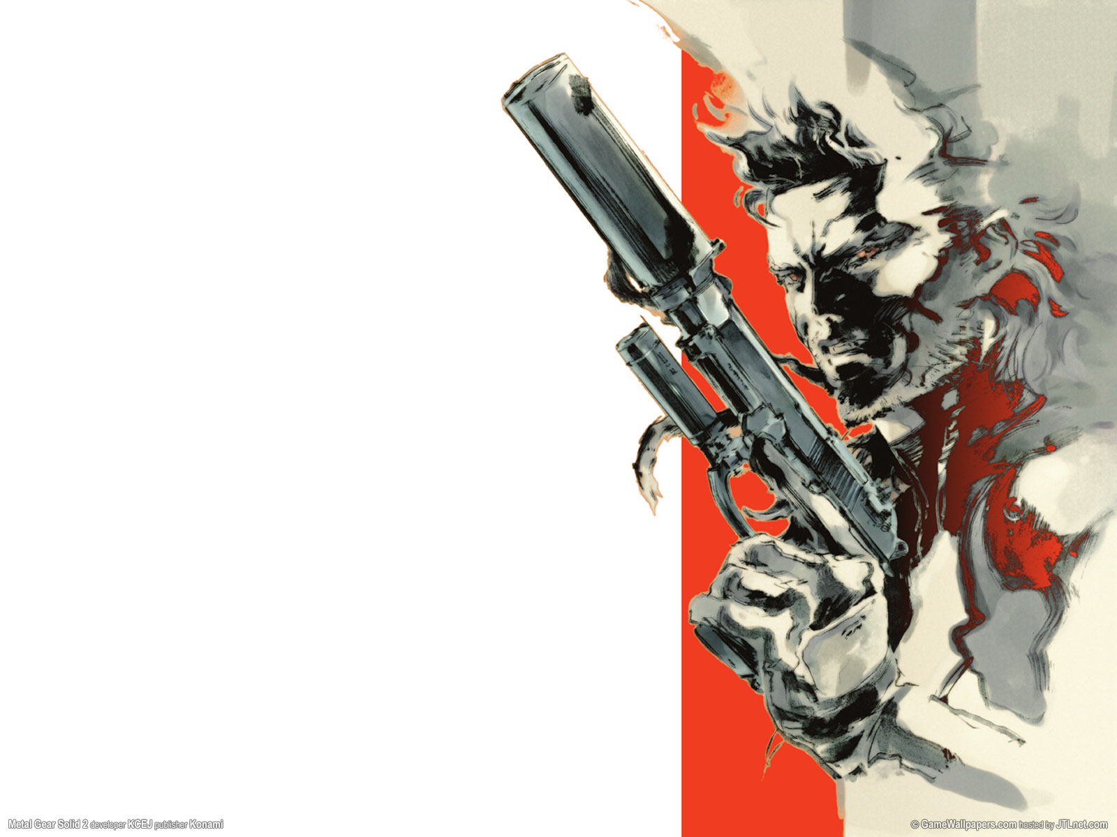 Raiden Mgs2 Hd Metal Gear Solid 2 Wal...