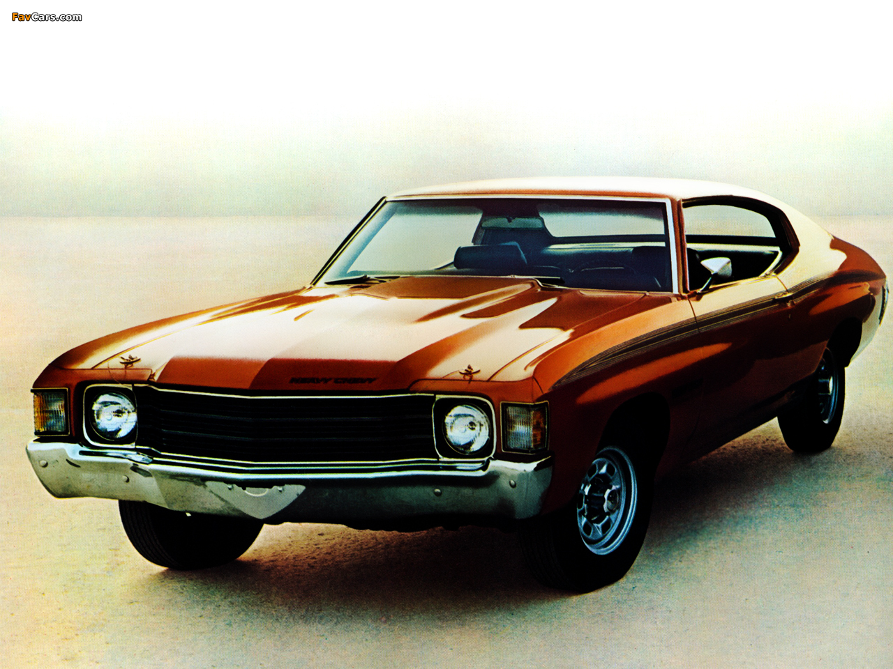 Wallpapers of chevrolet chevelle heavy chevy 1972 1280 x 960