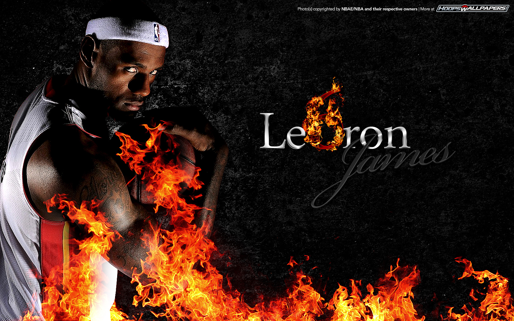 Heat Lebron James Wallpaper Pictures to pin 1680x1050