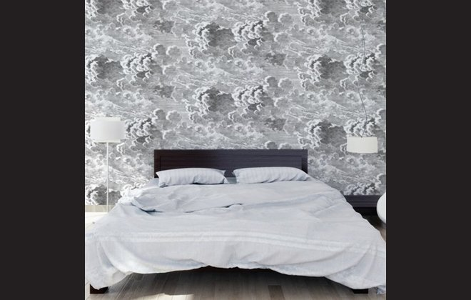 fornasetti clouds wallpaper wallpapersafari