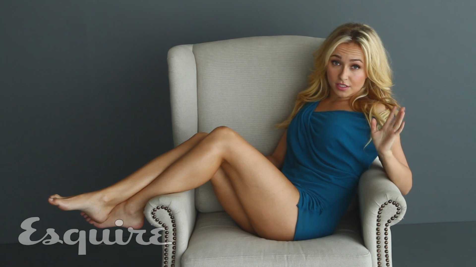Hayden Panettiere Tattoo On Foot HD Wallpaper Background Images 1920x1080