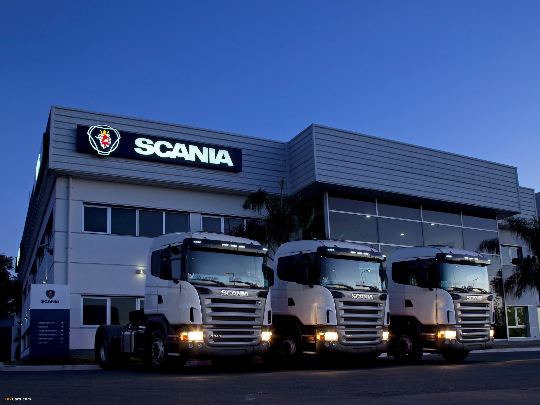 Wallpapers of Scania G Series 2048x1536 2048x1536