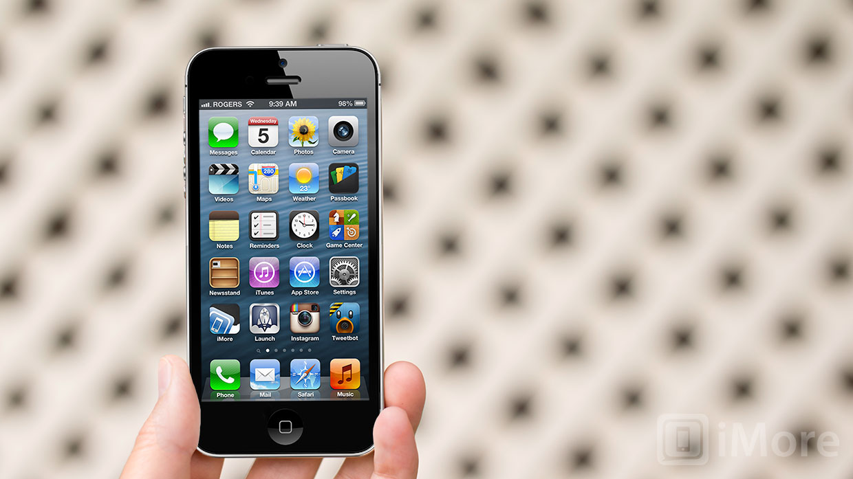 Iphone 5s Original Home Screen Layout ios 6 review imore 1240x697