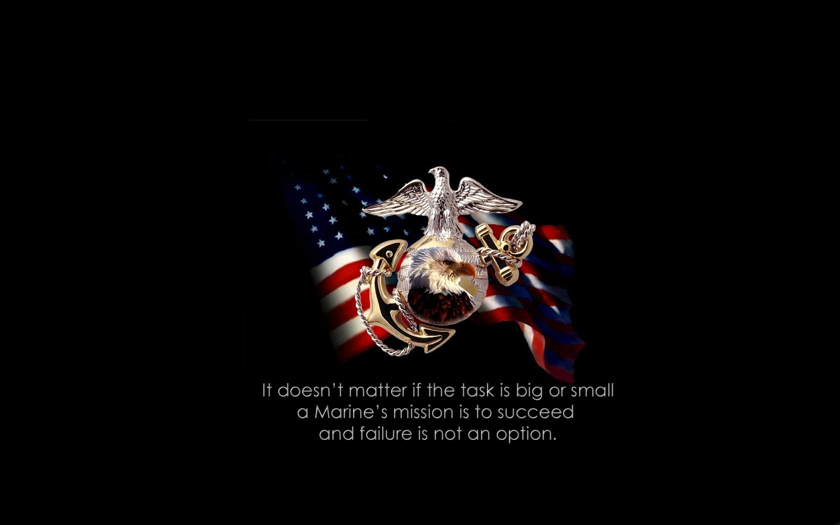 Marine Corp Desktop Wallpaper: Marines HD Wallpaper
