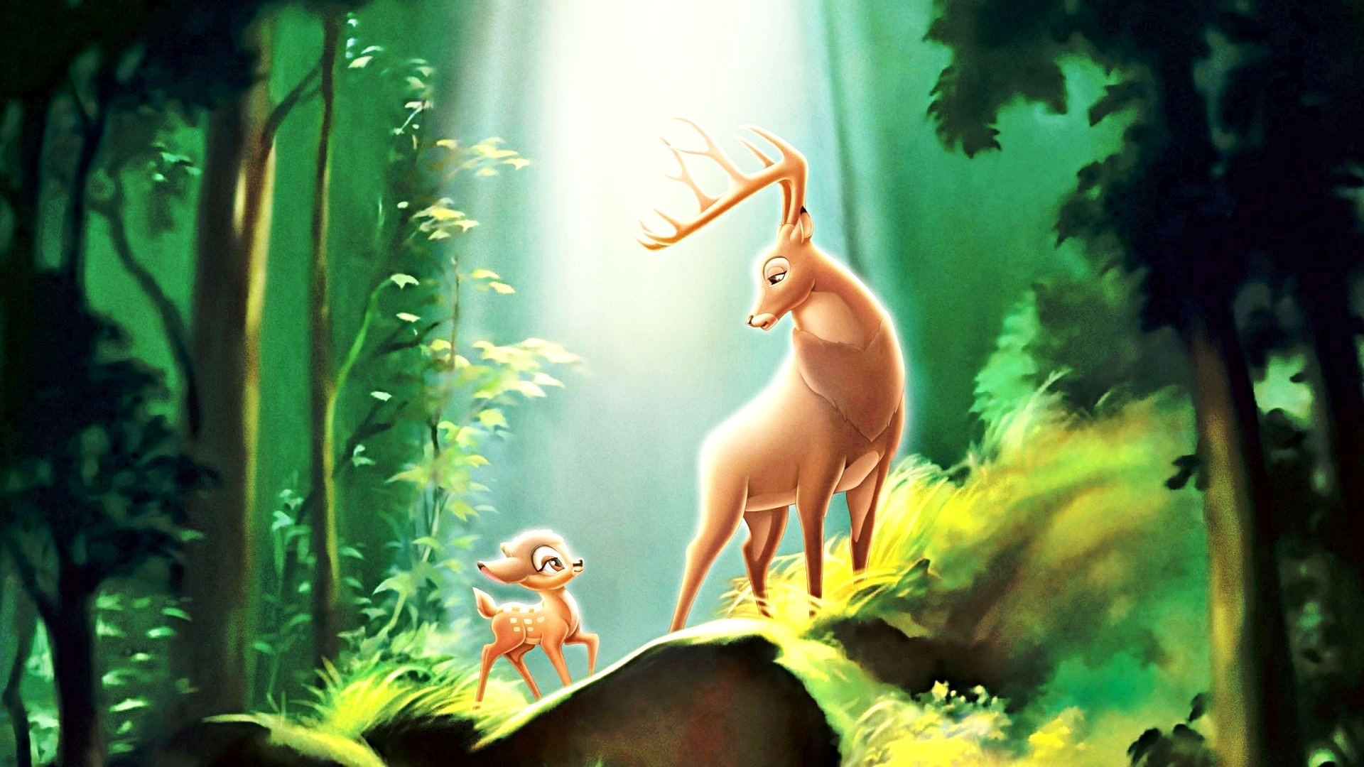 Walt Disney Bambi Desktop Wallpaper 1920x1080