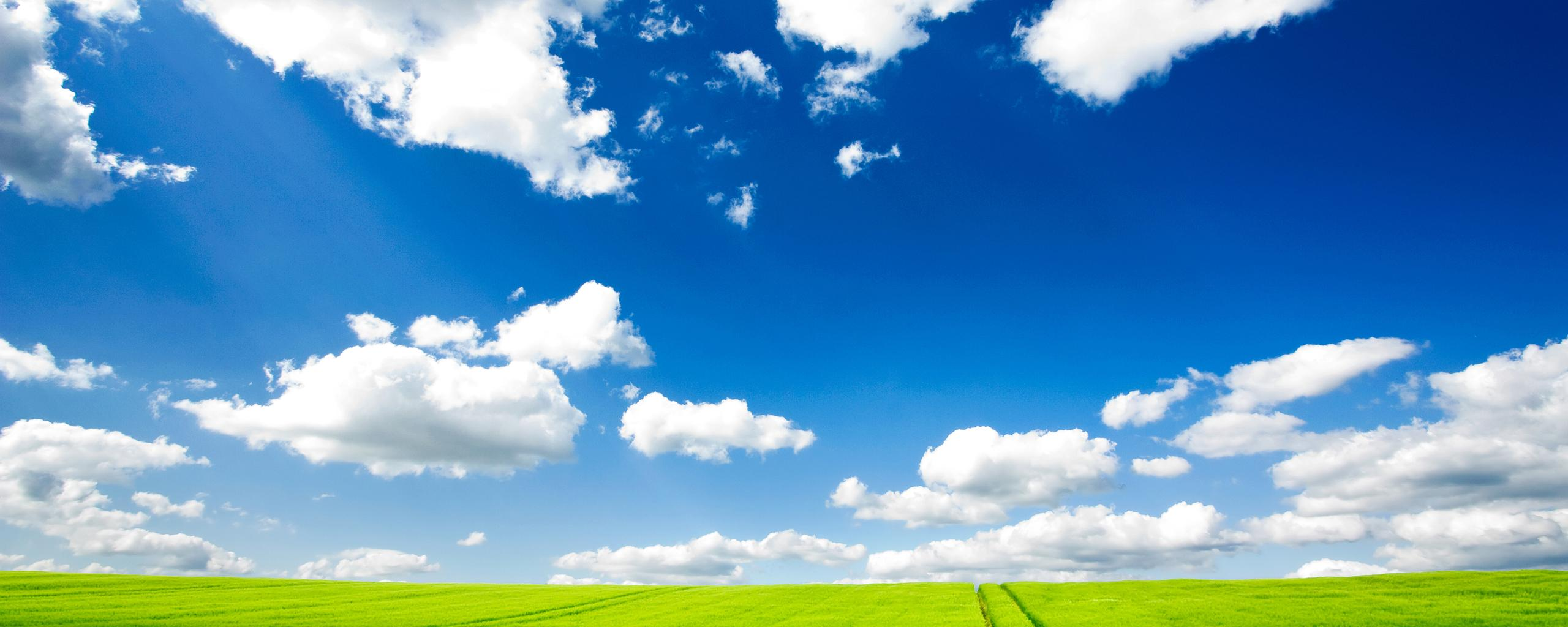 Blue Sky Wallpapers 2560x1024