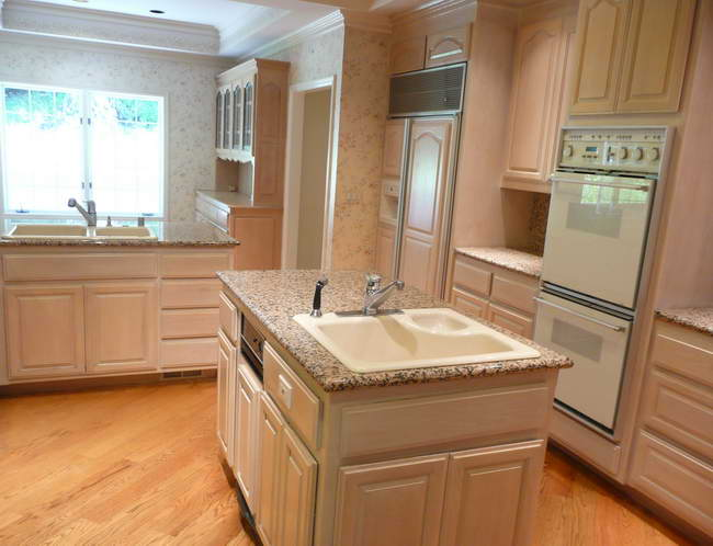 Cabinets Well As Wallpaper kitchen cabinet paint kitchen cabinets 650x498