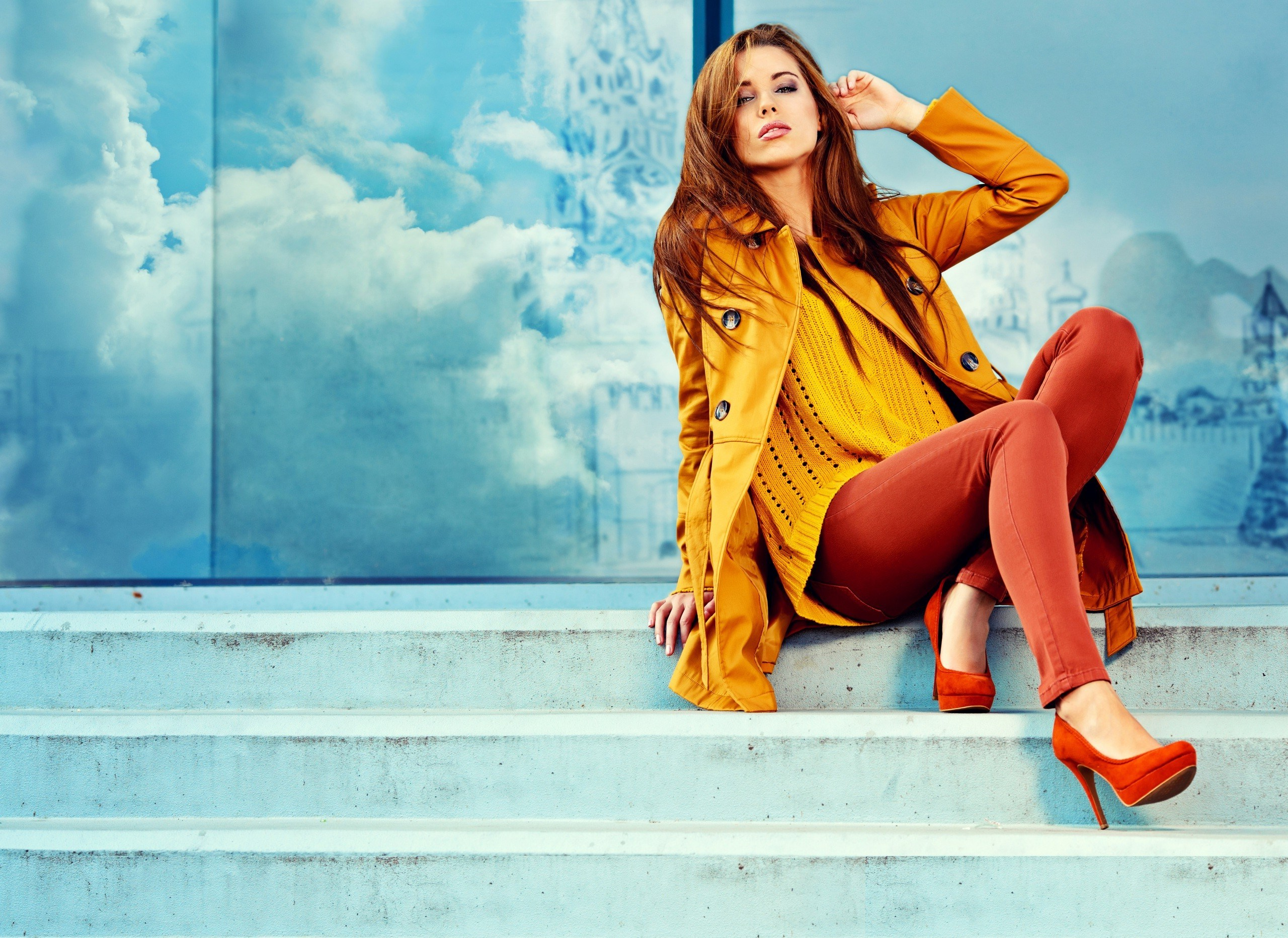 Brown Hair Stylish Girl HD Wallpapers   Large HD Wallpapers 2560x1864