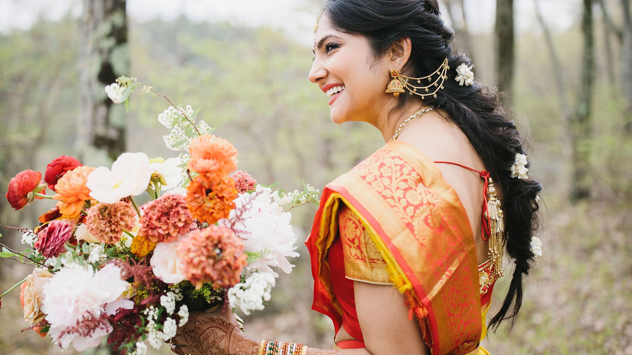 18 Beautiful Indian Wedding Hairstyles for Every Bridal Personality 2048x1152