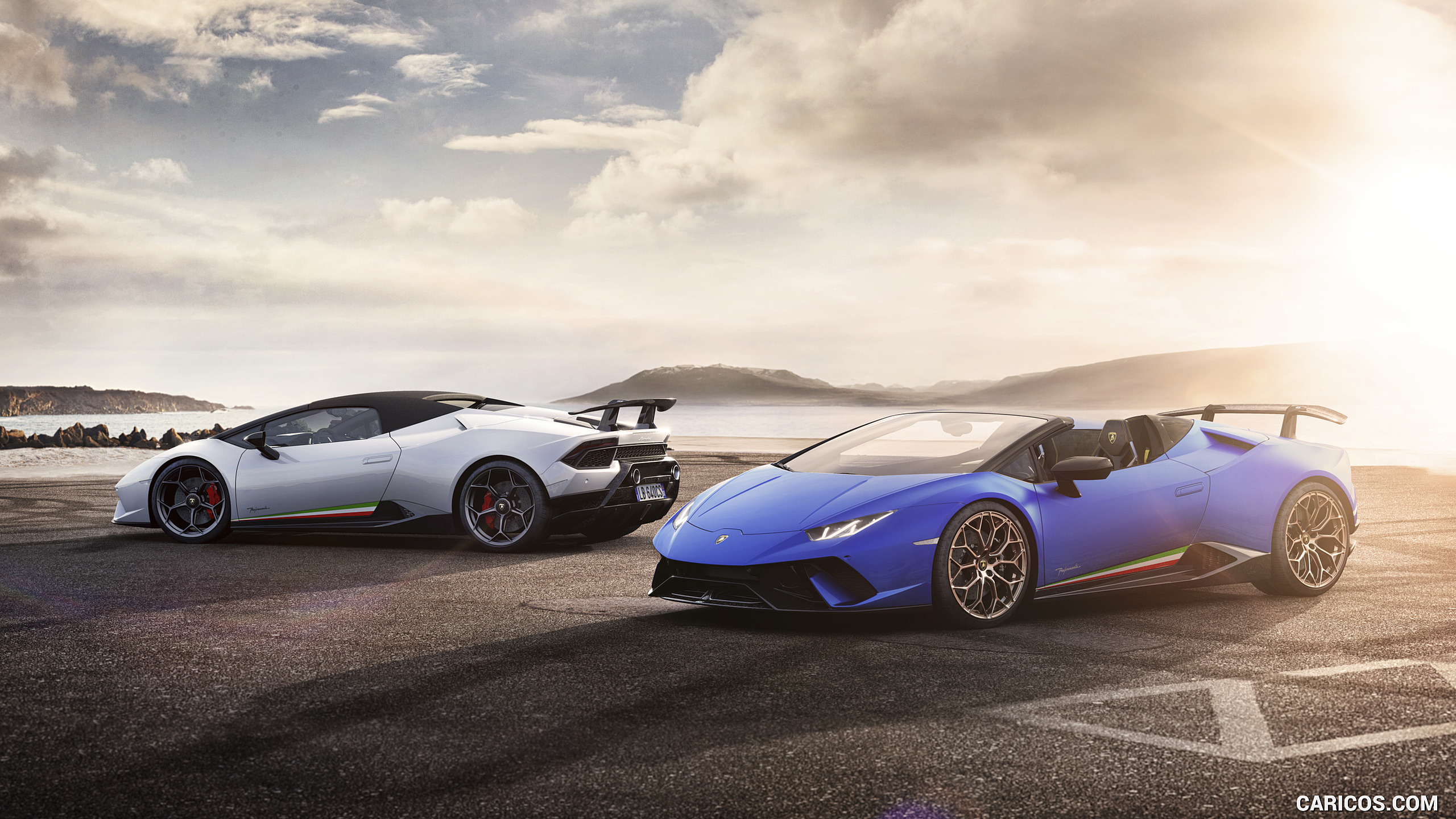 2019 Lamborghini Huracn Spyder Performante HD Wallpaper 4 2560x1440