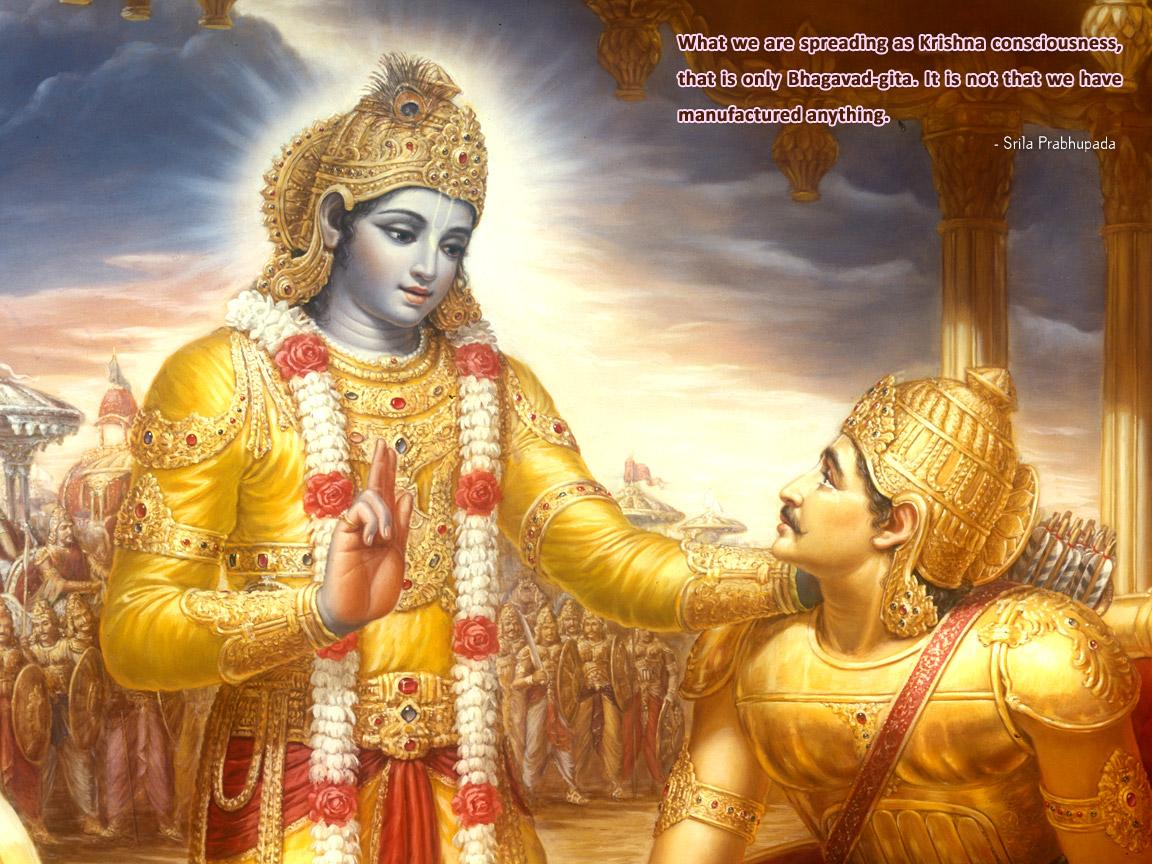 Bhagavad Gita Hindu Wallpapers 1152x864