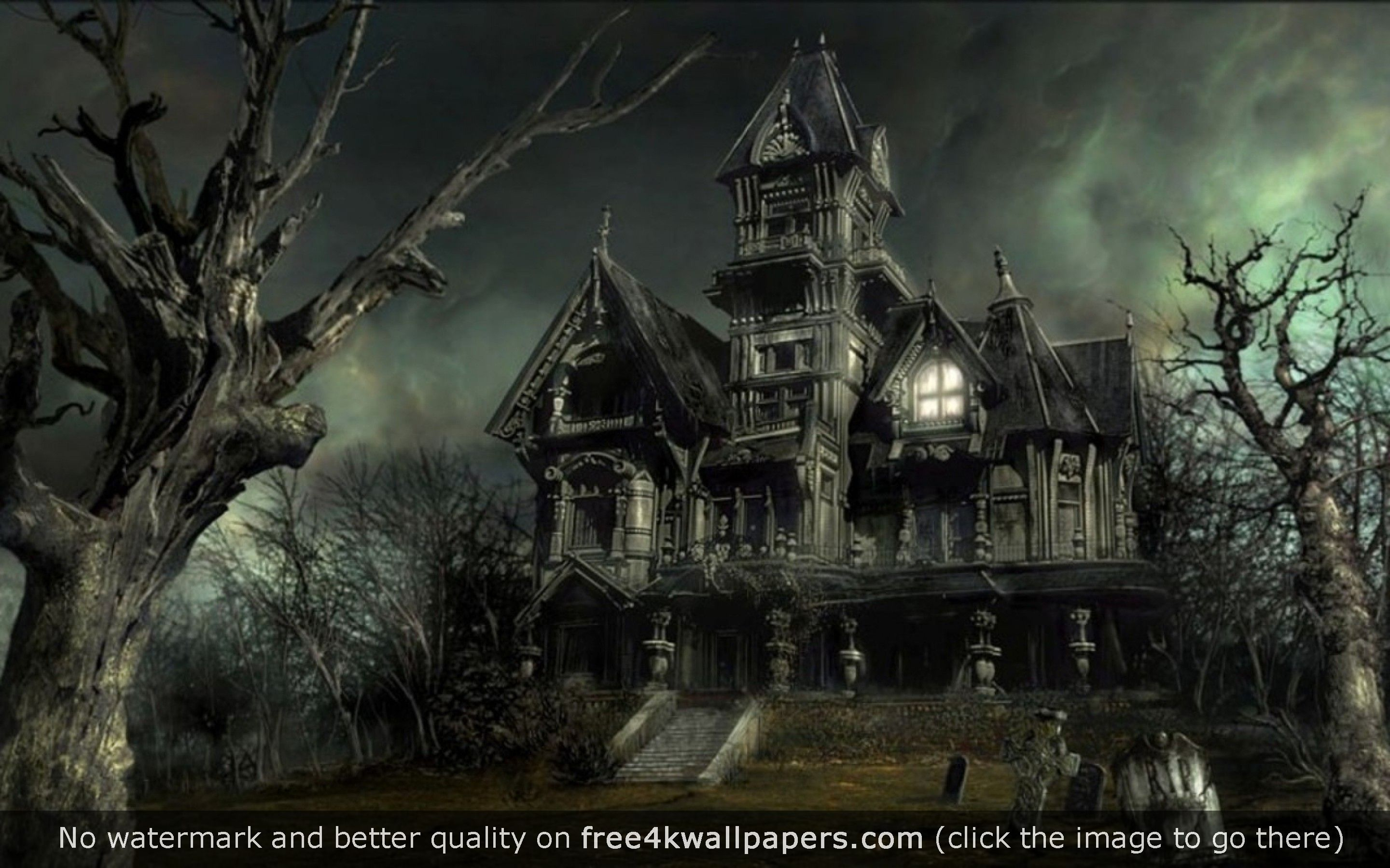 Haunted House wallpaper   HD Wallpapers 2880x1800