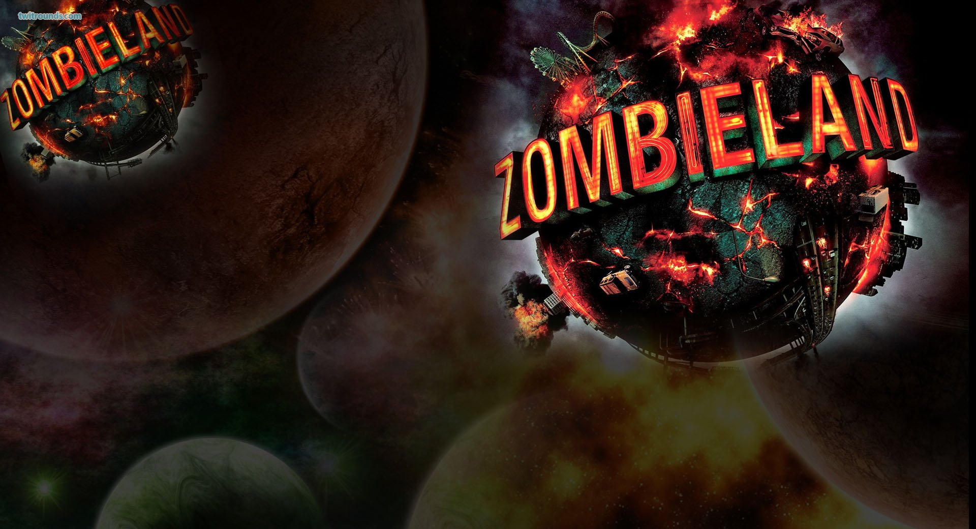 Zombieland rules wallpaper