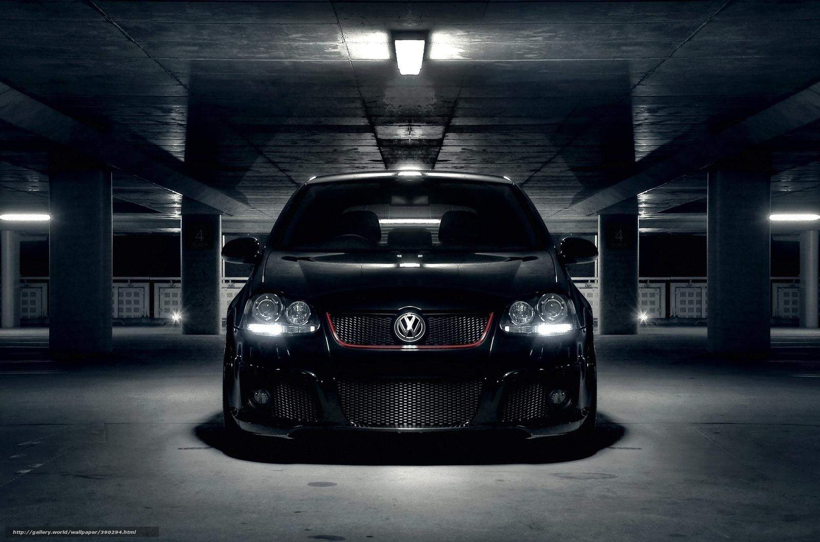 wallpaper volkswagen vw golf wallpapers auto Parking desktop 1600x1058