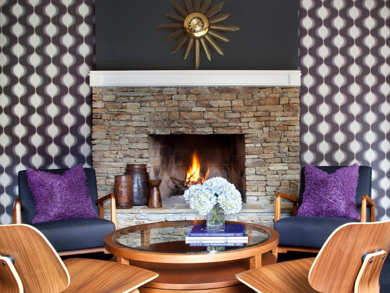 How to Install Fabric Wallcovering Living Room and Dining Room 1280x960