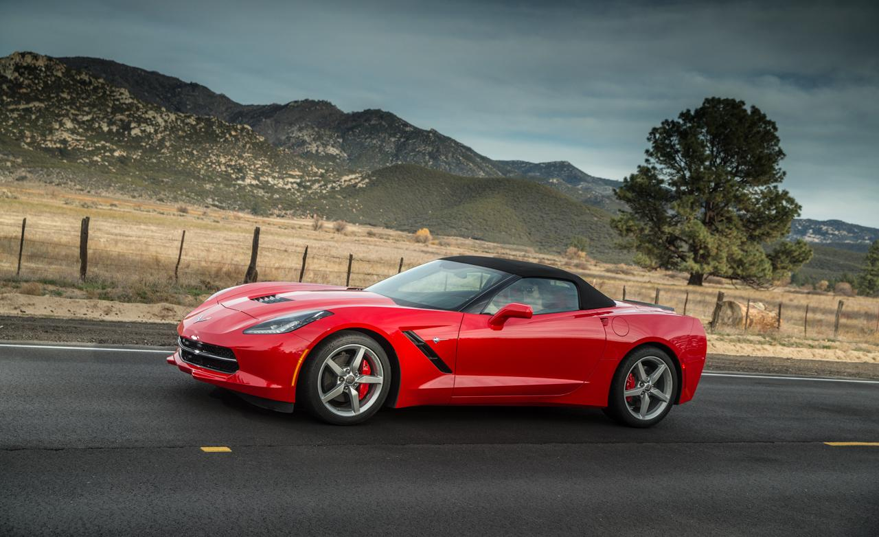 2015 Corvette Stingray Desktop HD Wallpaper 1280x782