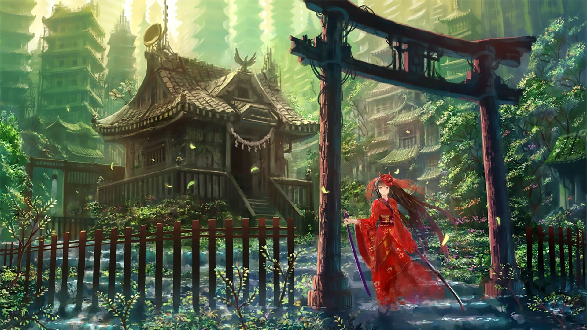 71 Japanese Animation Wallpapers on WallpaperPlay 1920x1080