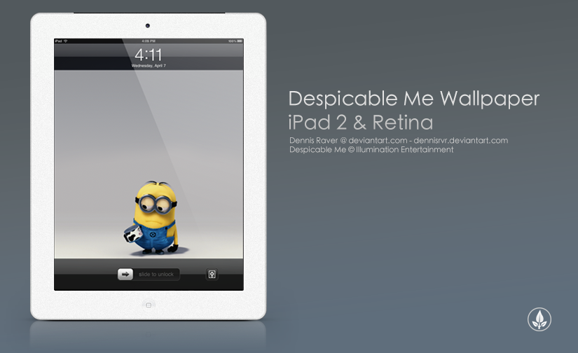 minion wallpaper ipad mini Wallpaper Downloads 825x504
