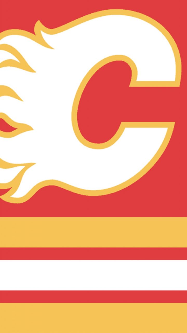 Download 720x1280 Calgary flames Hockey Canada Wallpaper Background 720x1280