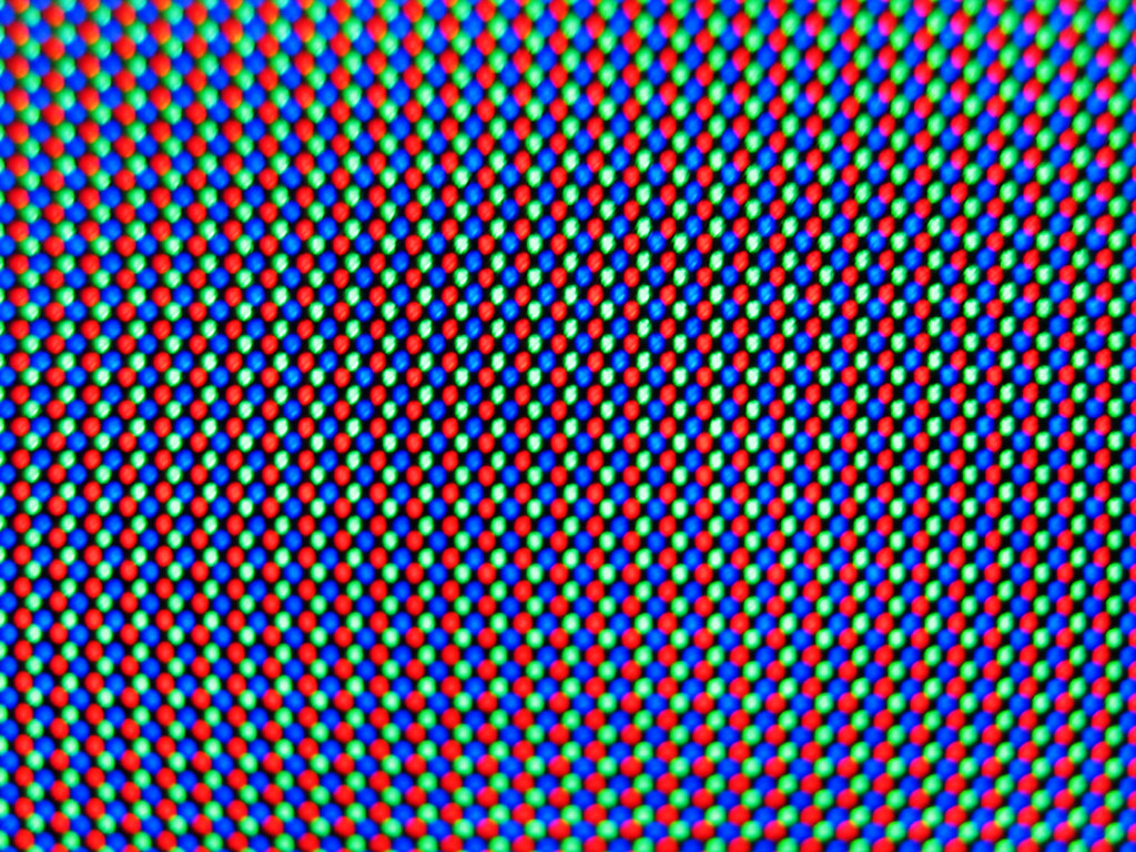 LCD matrix wallpaper RGB pixels on a LCD panel Wallpaper Flickr 1024x768