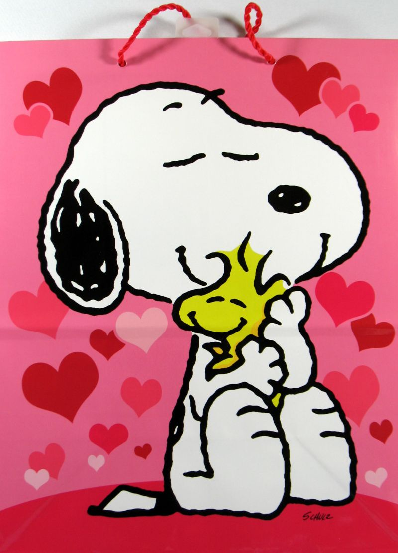 download Snoopy Valentines Day Gift Bag Snoopn4pnutscom 800x1111