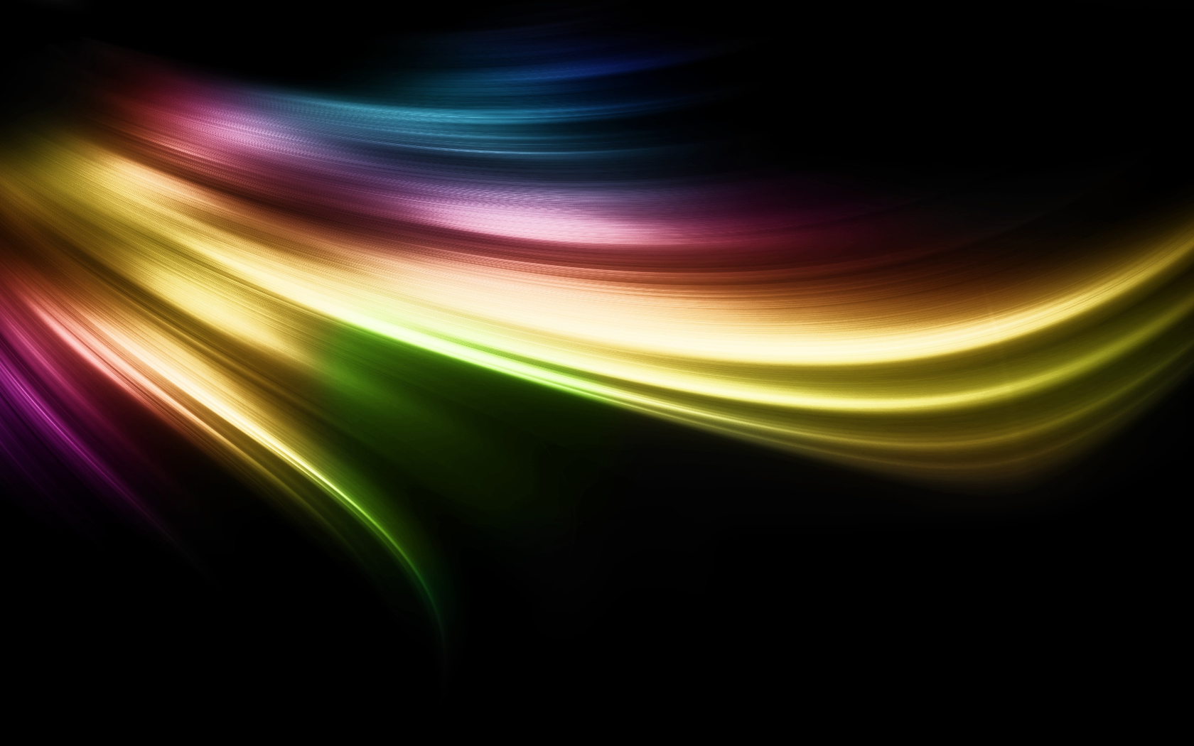 The dynamic glare Wallpapers colorful desktop background Abstract 1680x1050