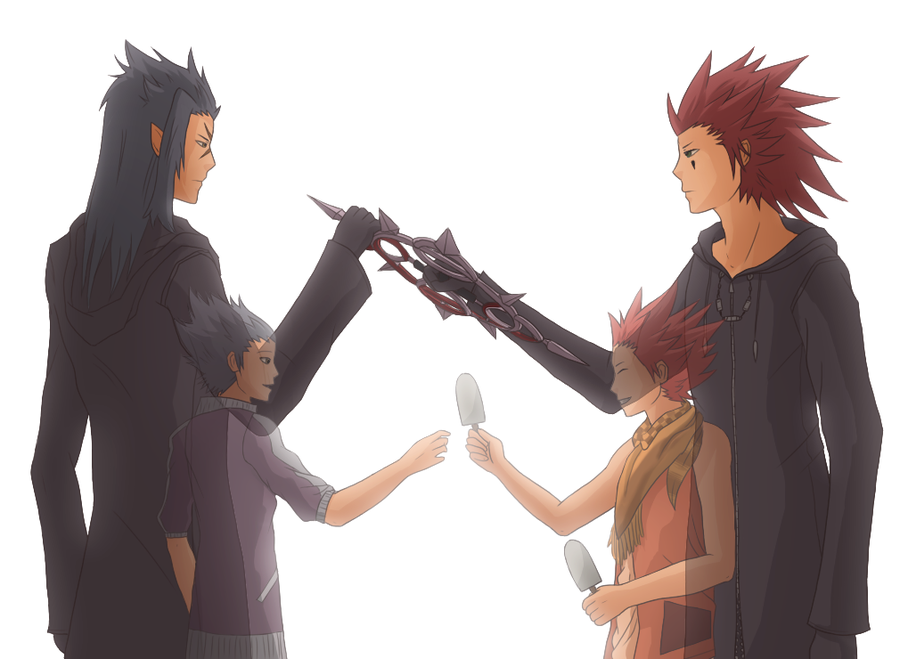 Riku114 Images Saix And Axel Hd Wallpaper And Background   Lea 900x659