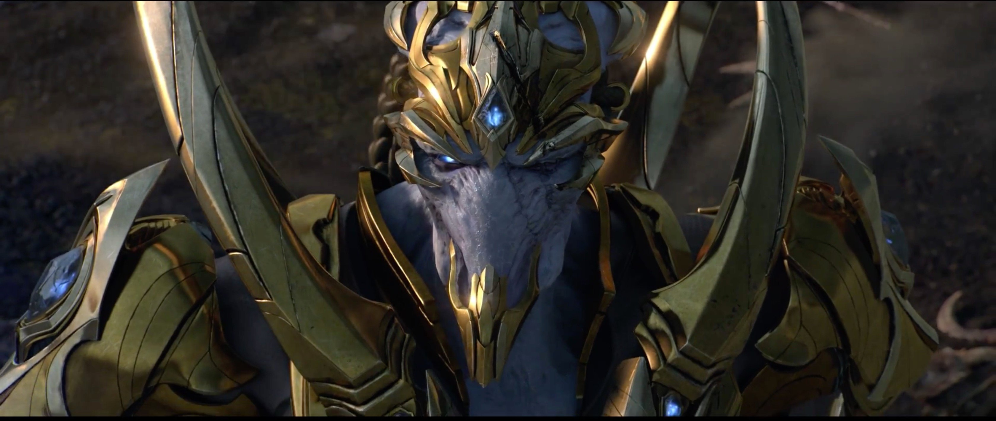 Starcraft Protoss Wallpaper posted by Michelle Thompson 3360x1420