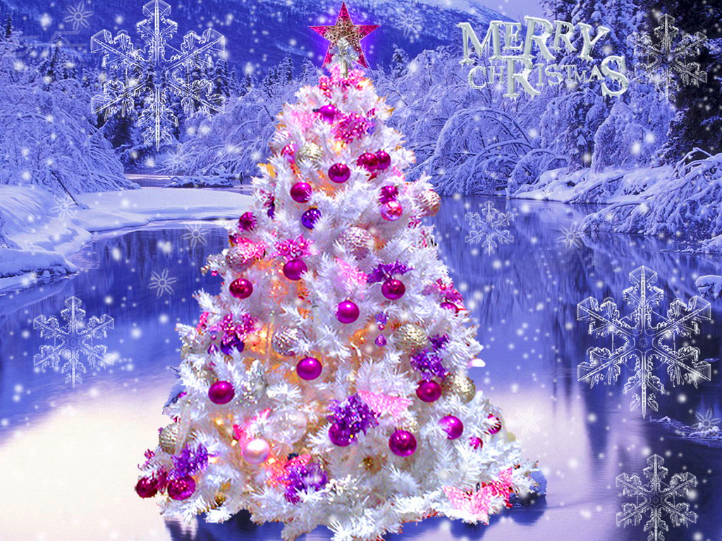 Beautiful Christmas Tree   Christmas Wallpaper 27617948 1024x768