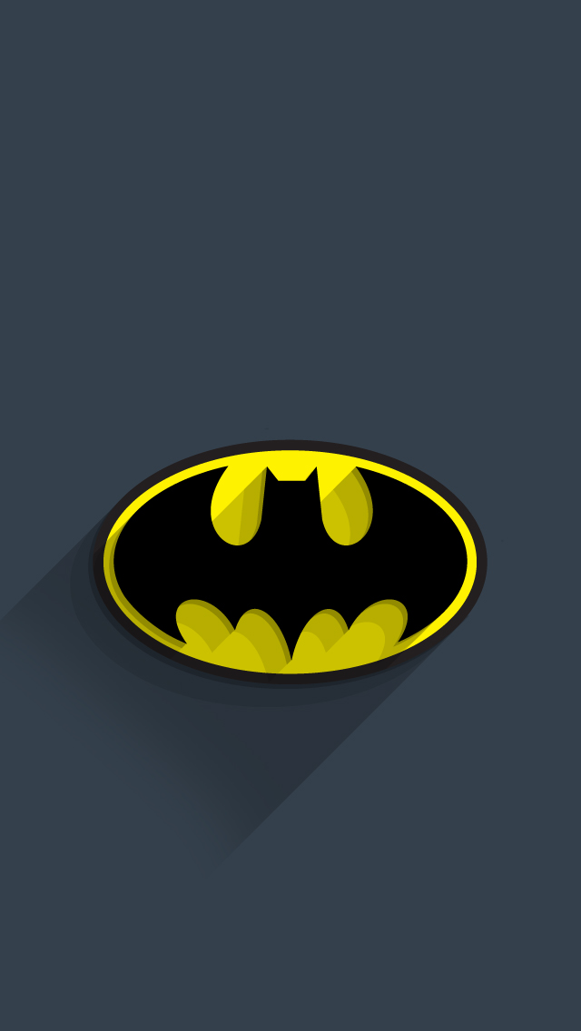 Batman Logo iPhone Wallpaper - WallpaperSafari