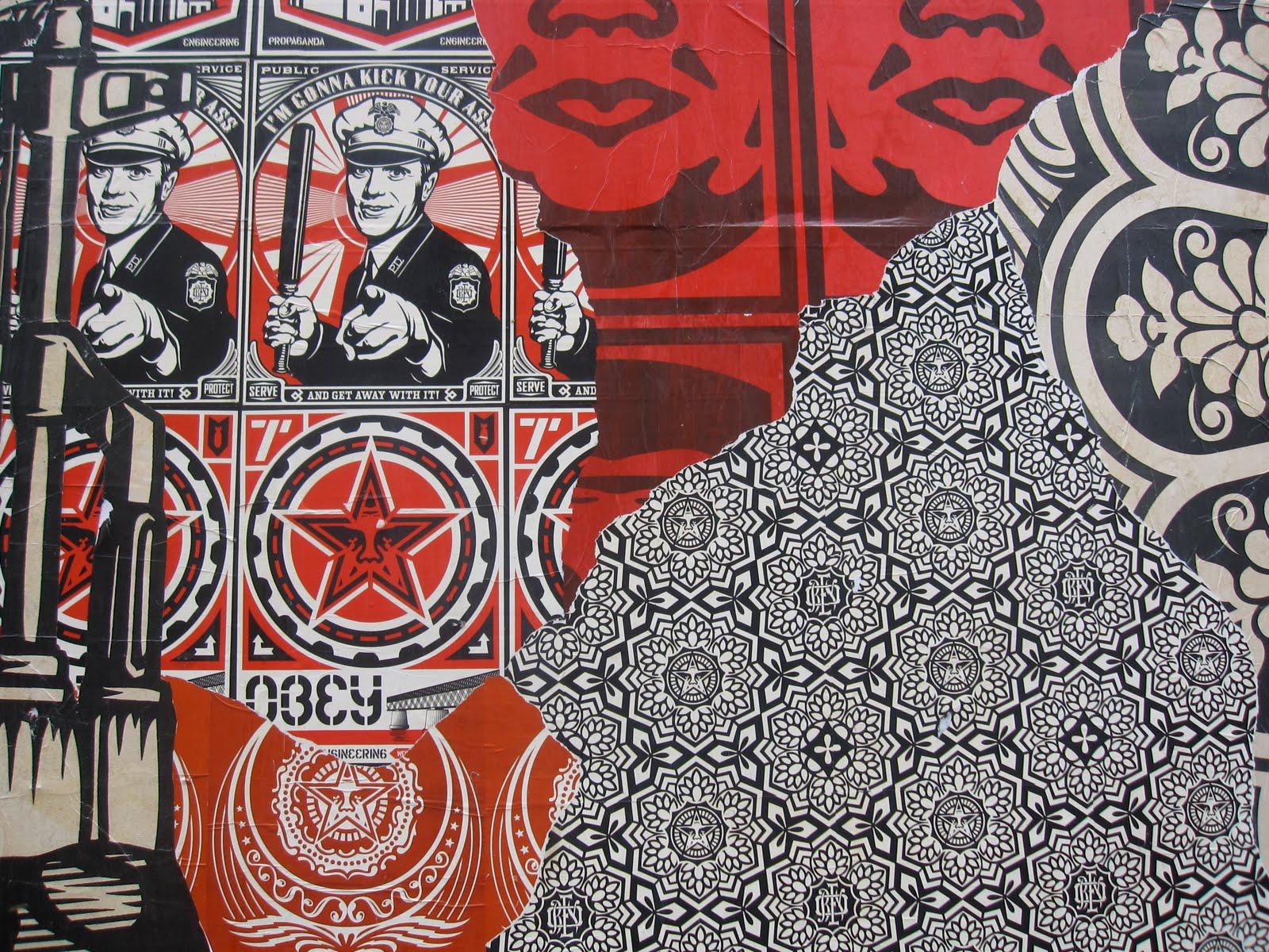 Shepard Fairey Wallpaper More shepard fairey 1600x1200