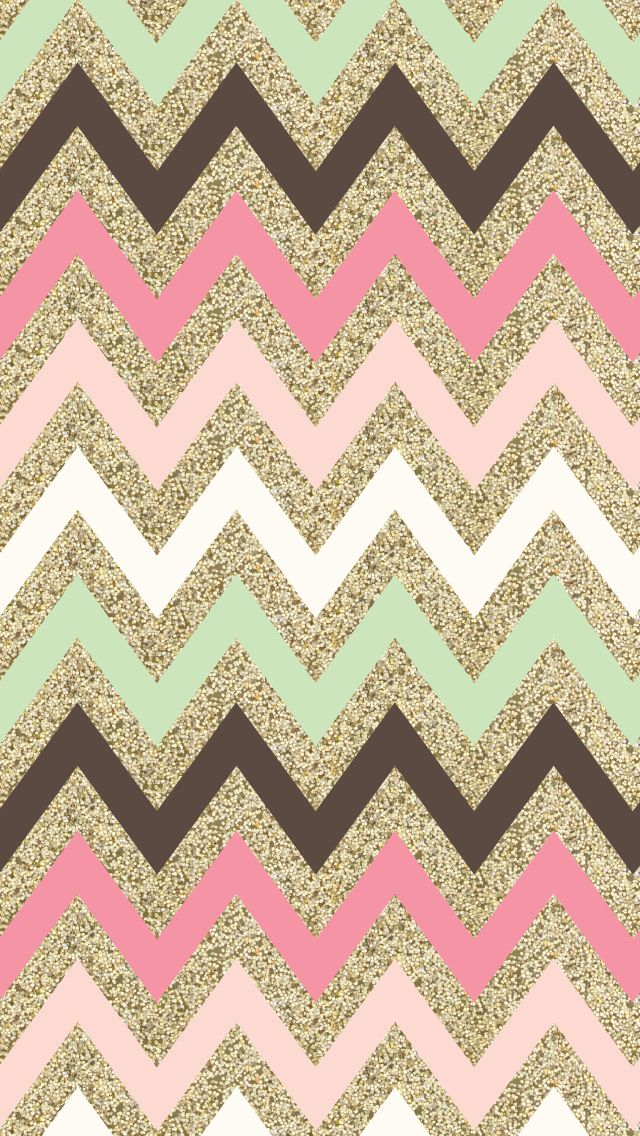 Glitter Chevron Iphone Wallpaper I P H O N E W A L R 640x1136