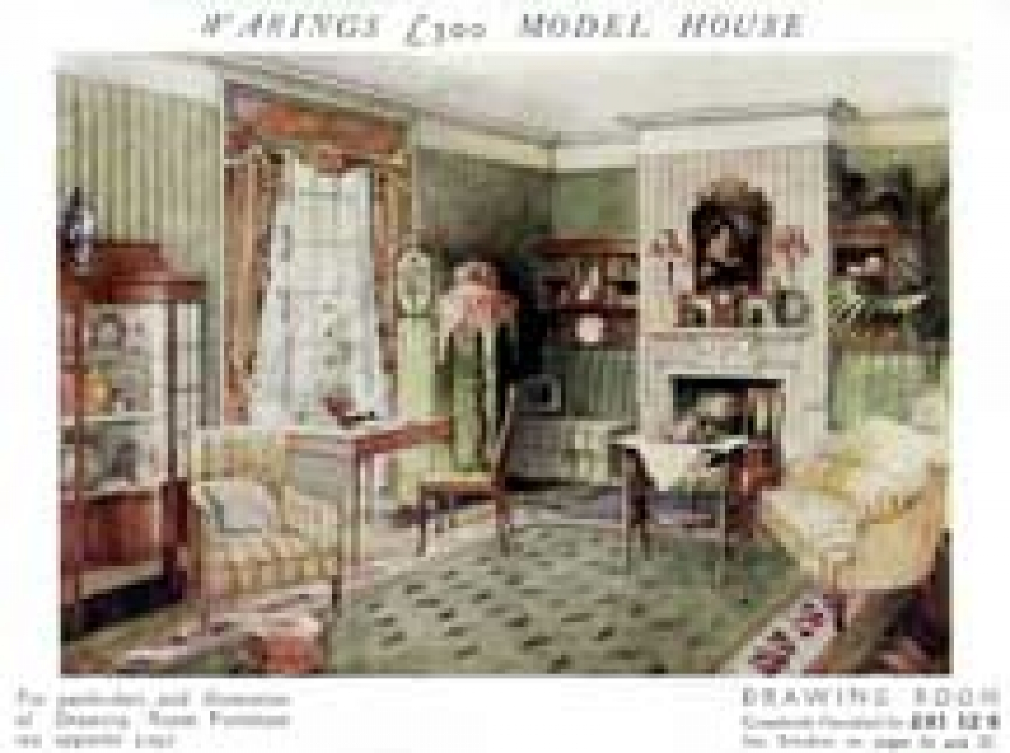 Download Miniature And Doll House Victorian Wallpaper 1440x1073