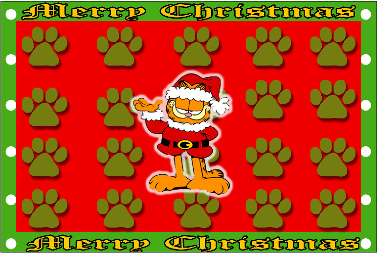 47 Garfield Christmas Wallpaper On Wallpapersafari