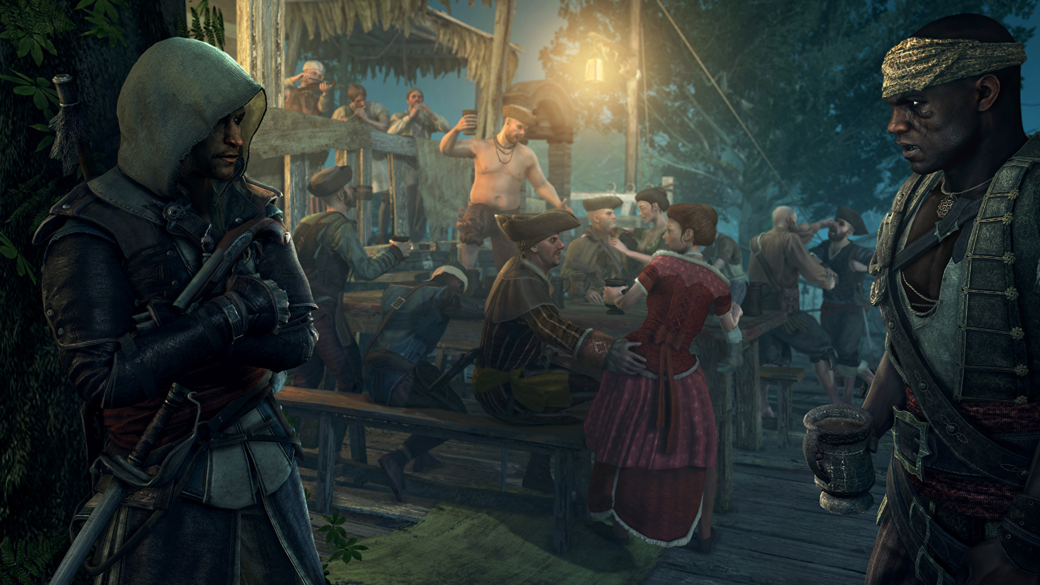 Assassins Creed 4 Multiplayer Male wallpaper 2048x1152